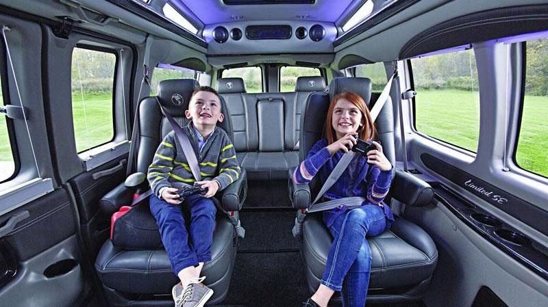 Chevrolet GMC Interiors - Explorer South Van Conversions