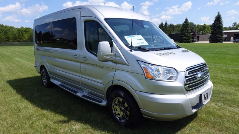 Ford Transit Ingot Silver with Ingot Silver Cladding (Medium Roof) - Explorer South Conversion Van